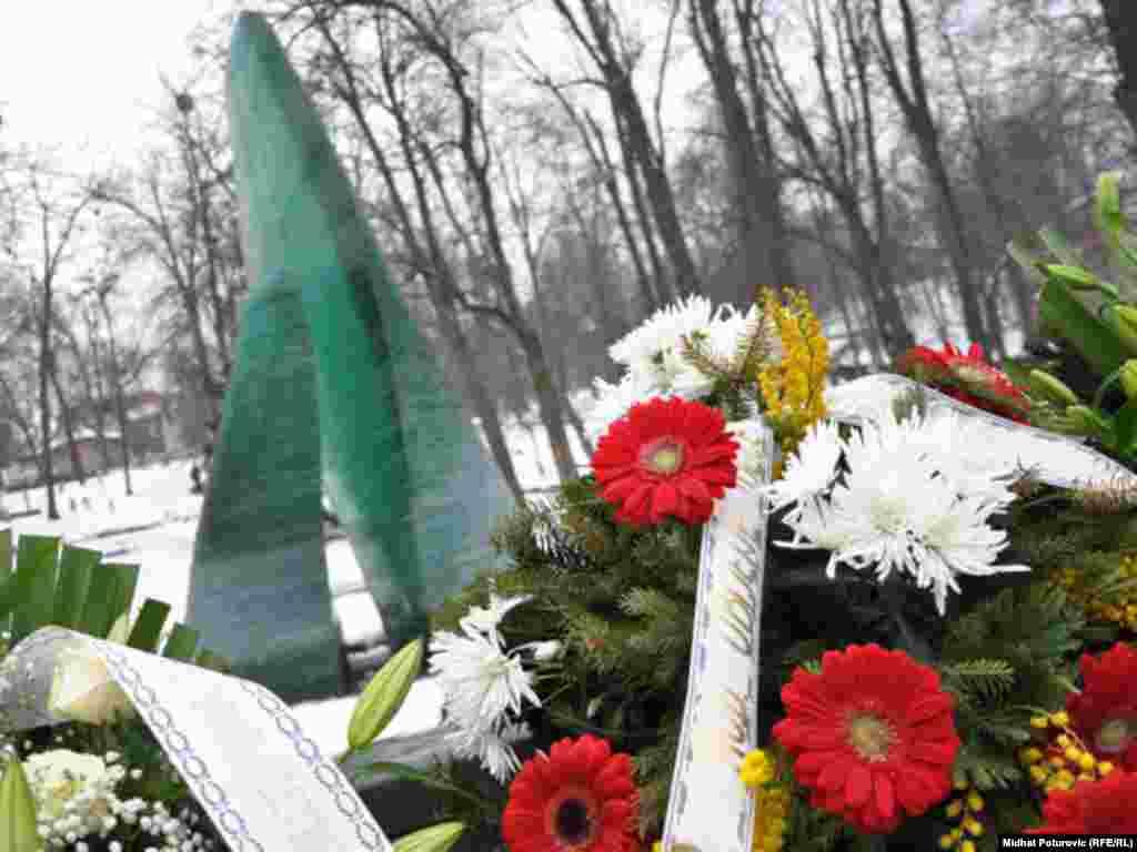Spomen-obilježje ubijenoj djeci opkoljenog Sarajeva 1992-1995., 01.03.2011.