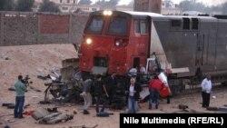 Pamje të aksidentit më 2013, Kajro, Egjipt