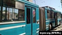 Троллейбус в Крыму. Архивное фото
