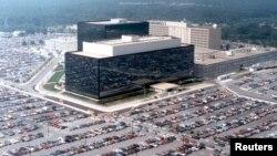 Pamje nga ajri e shtabit të NSA, (Ilustrim)