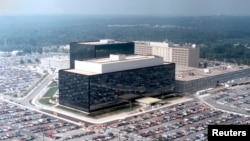The headquarters of the U.S. National Security Agency in Fort Meade, Maryland