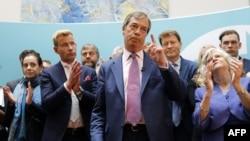 Най-много гласове във Великобритания събра Партия Брекзит на Найджъл Фараж