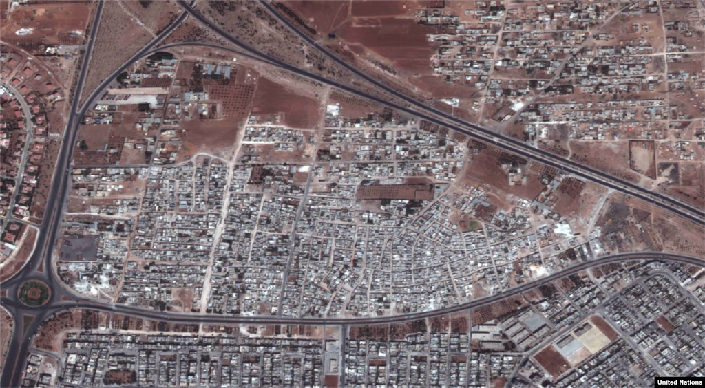 Al-Arbaeen, Hama 2010-2012 The western city of Hama has been the site of fierce fighting between Syrian government forces and rebels. The extent of the destruction can be seen most dramatically in the levelling of the Al-Arbaeen district.