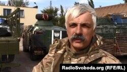 Дмитро Корчинський поблизу Маріуполя, вересень 2014 року