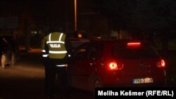 Сараево- полиција на Меѓународниот аеродром при пристигнувањето на државјаните на БиХ од Сирија