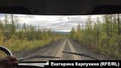 Дорога к горе Кестер