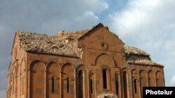 Turkey -- The Holy Virgin Armenian cathedral in Ani.