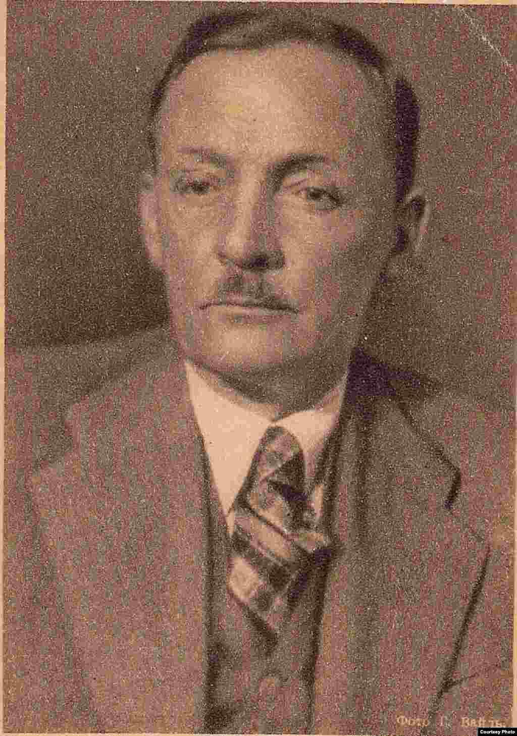 Янка Купала. Фота Г. Вайля. 1939 г. З фондаў БДАМЛМ