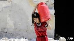 Siriýanyň Aleppo şäheri, 5-nji iýul, 2017