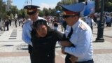 GRAB - Arrests In Almaty Amid Kazakh Crackdown