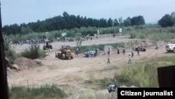 صحنهای از درگیری تازه در بیشهکلا مازندران