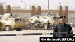 الجيش يحمي المحكمة التي تحاكم متهمين من جماعة الاخوان