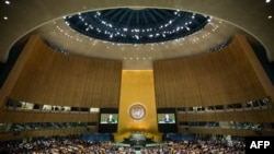 UN General Assembly debate opens at UN headquarters in New York on September 24.