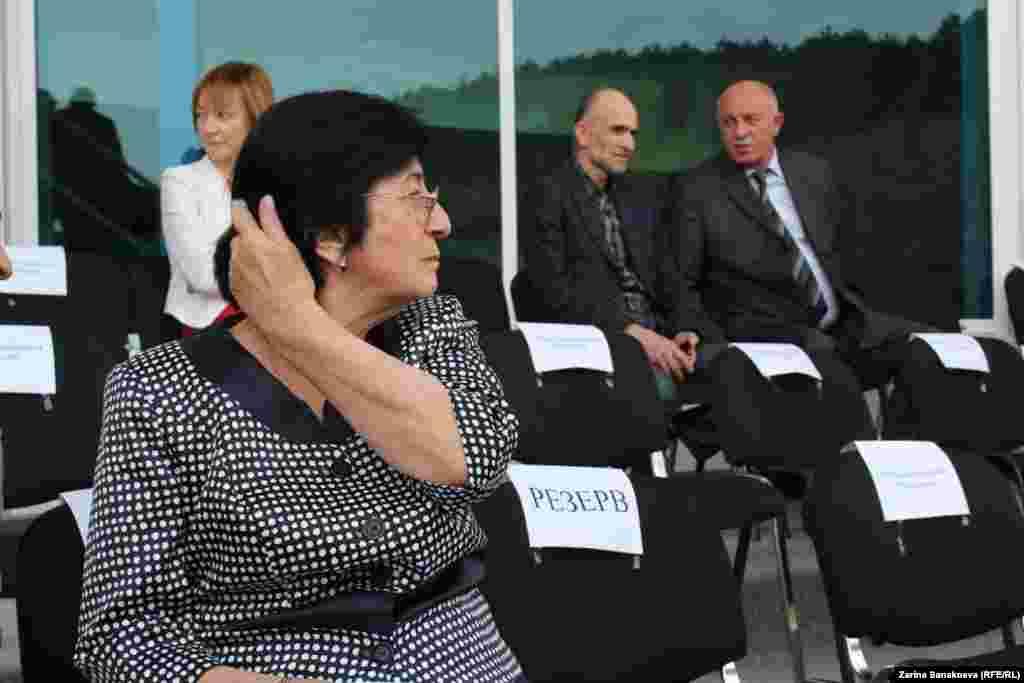 Бессменный руководитель югоосетинского Центризбиркома Белла Плиева