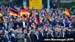 Демонстрация правых в Хемнице, 1 сентября 2018