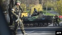 Ռուսամետ անջատականները Ուկրաինայի արևելքում, ապրիլ, 2015թ․
