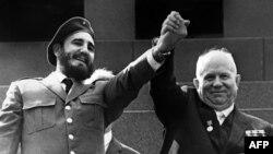 Фідэль Кастра і Мікіта Хрушчоў, травень 1963