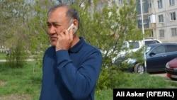 Бектурган Идрисов, владелец крестьянского хозяйства «Ескендир» из Алгинского района. Актобе, 5 мая 2017 года.