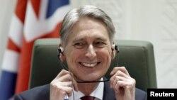 Британскиот секретар за надворешни работи Филип Хамонд