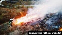 Президент: цього року кількість пожеж у природних екосистемах збільшилася на 30%