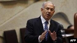 سخنرانی نتانیاهو پیش از سوگند کابینه