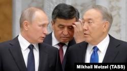 Президент России, Кыргызстана и Казахстана.