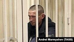 Евгений Александров в суде, 21 октября 2019 год