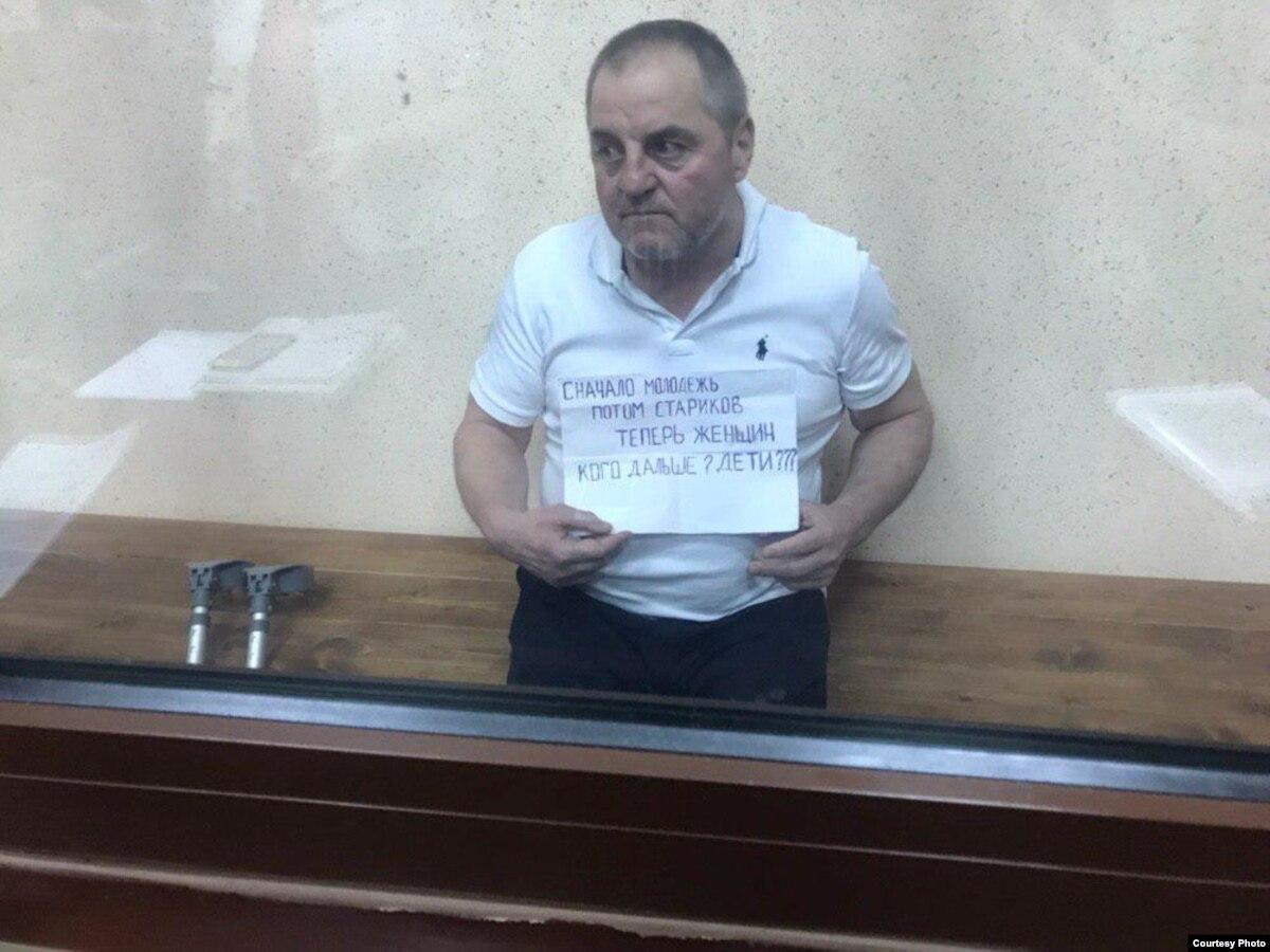 Крым: Бекирова второй раз за сутки вывозили в больницу для обследования