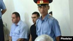 Подсудимые на процессе об убийстве Вагена Аветяна