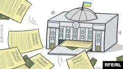 Політина карикатура Євгенії Олійник