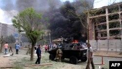 Після нападу на поліцейську дільницю у Мідьяті, Туреччина, 8 червня 2016 року