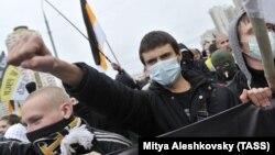 """Акция националистов """"Русский Марш"""" в Москве (Архивное фото)"""