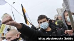 """Раҳпаймоии """"Русский Марш"""" дар Маскав"""