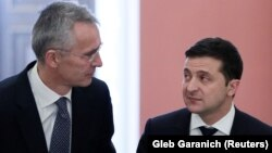 НАТО Бош котибиЙенс Столтенберг 31 октябрь куни Украина президенти Володимир Зеленский билан учрашди.