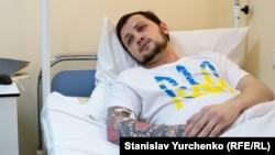 Афанасьєв у лікарні в Києві, червень 2016 року