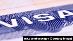 FILE - United States visa