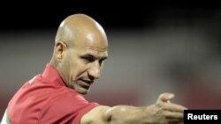 مدرب المنتخب الأولمبي العراقي راضي شنيشل