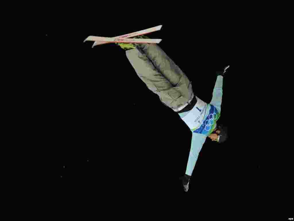 انتون کوشنیر از بلاروس در رشته اسکی فریاستایل - :