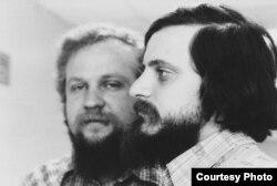 Петр Вайль и Александр Генис. 1980. Фото: Нина Аловерт
