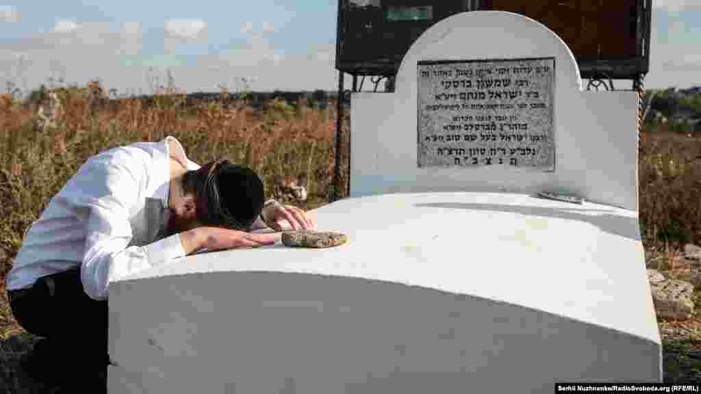 Цадик Нахман решил поселиться вУмани перед своей кончиной. Он завещал похоронить его на местном кладбище.