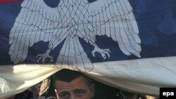 Flamuri i Serbisë...