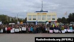 Протест об'єднав хіміків, шахтарів та енергетиків на Луганщині