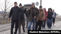 """Акция протеста """"Похороны колеса"""""""