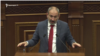 Премьер-министр Армении Никол Пашинян. выступает в парламенте, Ереван, 2 октября 2019 г.