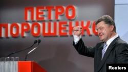 Петр Порошенко в предчувствии победы на президентских вывборах