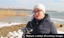 Галина Семеніхіна, біолог парку заповідника «Клебан Бик», що на Донеччині. Лютий 2020 року