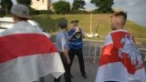 Belarus - Chain of solidarity with detained in Belarus. Hrodna, 19Jun2020