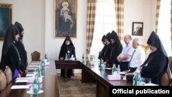 Фотография - пресс-канцелярия Первопрестольного Святого Эчмиадзина