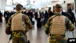 Belgijska policija nakon nedavnih napada u Briselu, mart 2016.