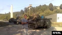 კობა ლიკლიკაძე იგოეთთან, 2008 წლის აგვისტო